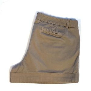 Mossimo Sz 14 Stretch Shorts Taupe